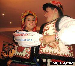 танець Гуцулів, Гуцули танцюють