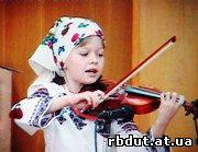 конкурс колядок - Юна скрипалька
